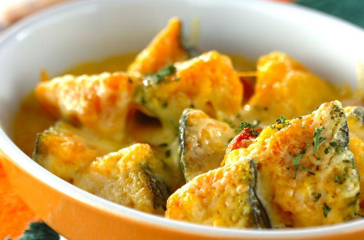 カボチャのグラタンのレシピ・作り方 - 簡単プロの料理レシピ | E・レシピ