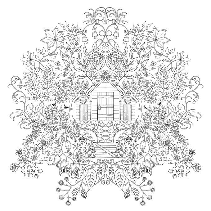 Inspirational Coloring Pages From Secret Garden Enchanted