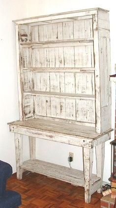 pallet hutch plans - Google Search