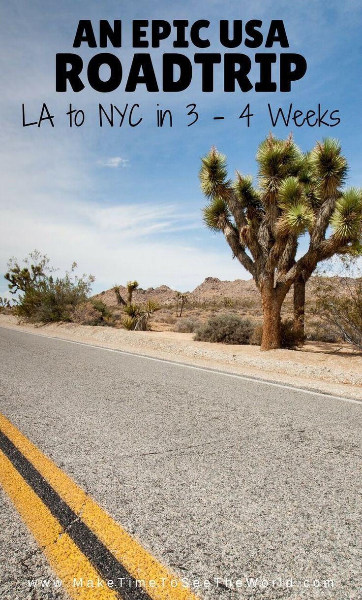 Click for the Ultimate USA Road Trip! Join me on an epic summer roadtrip across the USA - LA to NYC in 3 - 4 Weeks ****************************************************************************** USA Roadtrip | Roadtrip Itinerary | 4 Weeks USA Itinerary | 3 Week USA Itinerary | Road Trip | USA Road Trip