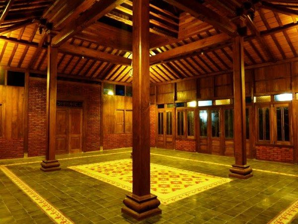 Nuansa Modern Dalam Desain Rumah Joglo | DesainInteriorTerbaru.Com