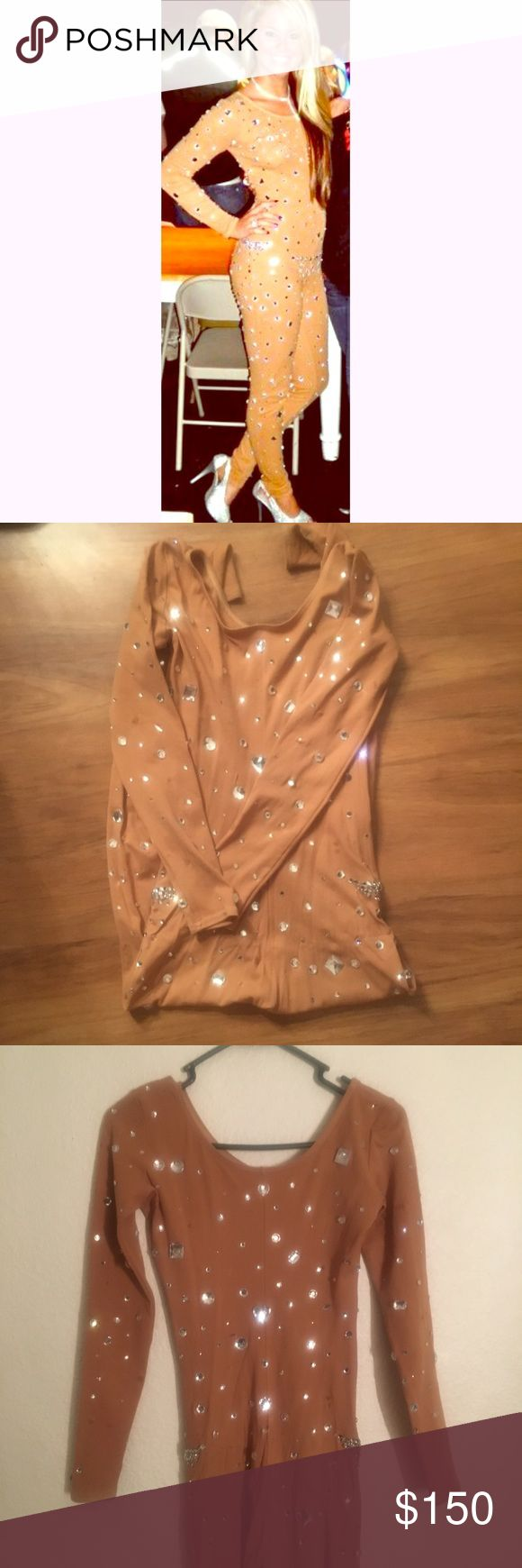 SEXY Britney Spears TOXIC costume sz small SUPER SEXY BRITNEY SPEARS Halloween costume completely handmade by me, size small!! A few rhinestones have fallen off but I'd be happy to apply more if purchased!! PERFECT HALLOWEEN COSTUME!! Only worn once! Other