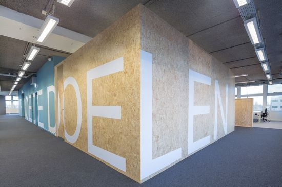 VFI Charities Office Design by VOID