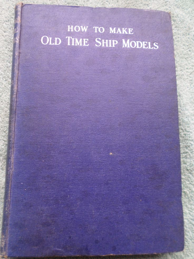 How To Make Old Time Ship Models Edward W. Hobbs c1944 Free Post Worldwide by RoseCollectable on Etsy