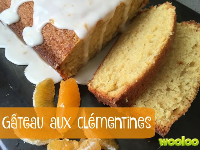 Wooloo | Gâteau aux clémentines