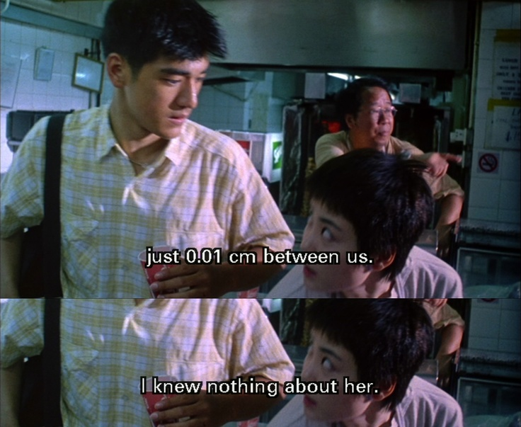 chungking express During the troubled production of ashes of time, which was supposed to be wong kar-wai's third film, the director took some time off, sat down and did what anyone in his position would do: made.