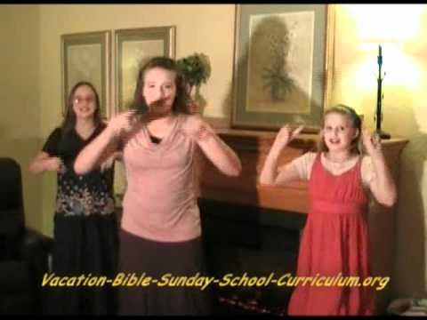 Sunday School, Children's Church, or VBS Song, 12 men went to spy on canaan - YouTube