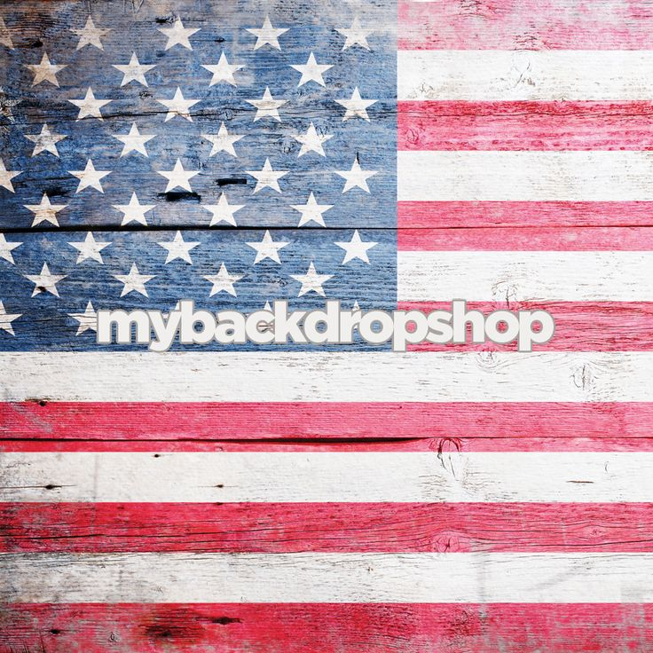 American Flag Photography Backdrop - 4th of July Party Decoration - Item 3080 - The Backdrop Shop