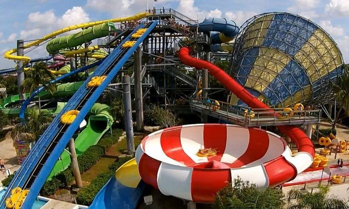 Rapids Water Park - Rapids Water Park: $79.99 for Admission for Two with Parking at Rapids Water Park (Up to $109.61 Value)