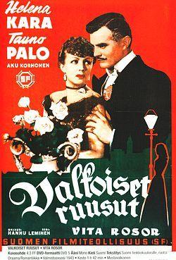 Helena Kara ja Tauno Palo Valkoiset ruusut elokuva vuodelta 1943.jpg