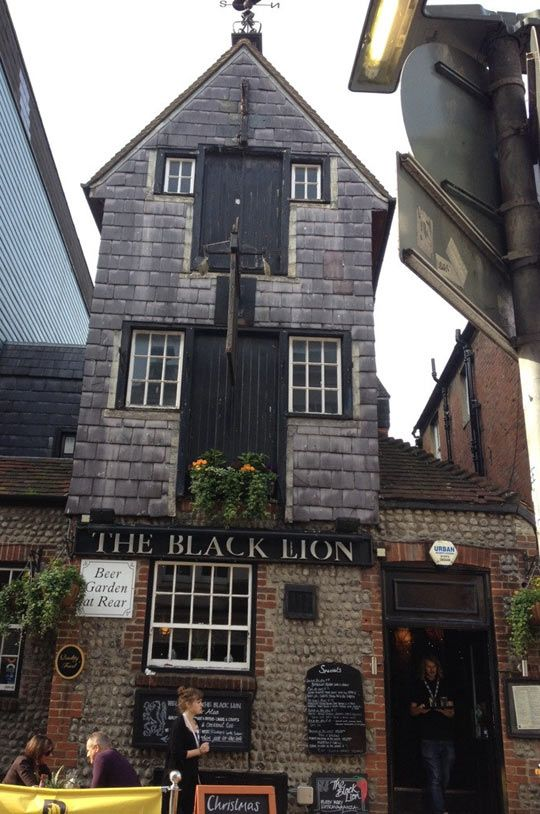 The Black Lion Pub, Black Lion Street, Brighton: situated in the heart of Brighton in the famous Lanes and dates right back to the 16th Century. (Photo 1)