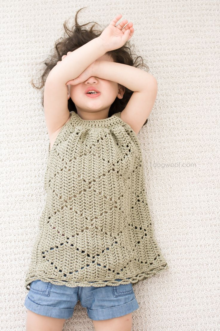 Beautiful crochet dresses for kids trendy - Summer Diamonds Toddler Dress