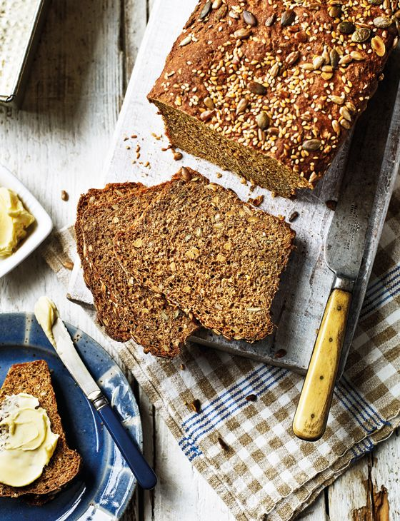Seed-packed rye loaf - Nutritious and delicious!