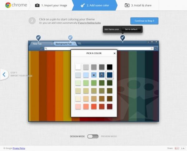 Crea tu tema personalizado para Google Chrome y compártelo http://onsoftware.softonic.com/crear-temas-chrome