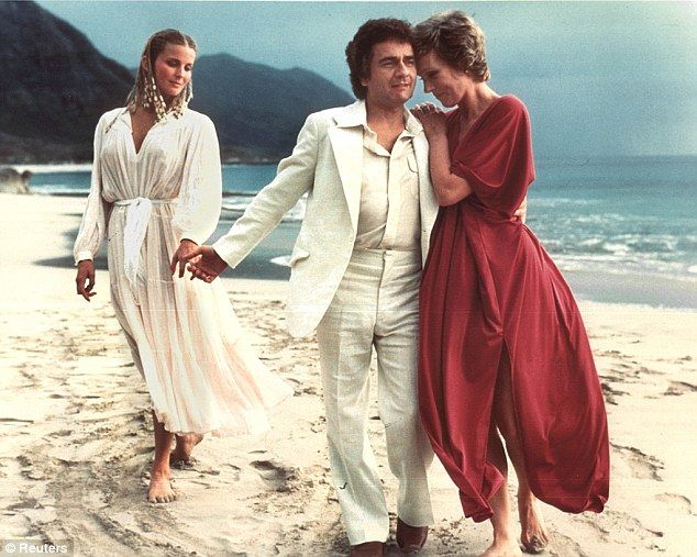 Box office gold: Dudley Moore with Julie Andrews and Bo Derek in Blake Edwards' smash hit film '10'