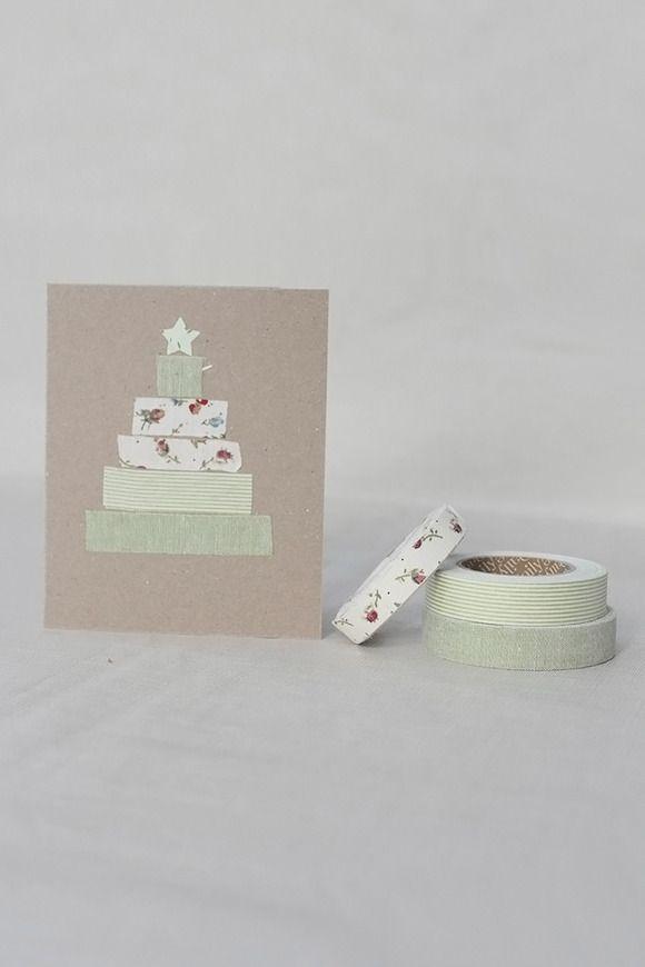 Ideas para hacer tarjetas de Navidad con niños.  Manualidades de Navidad con niños