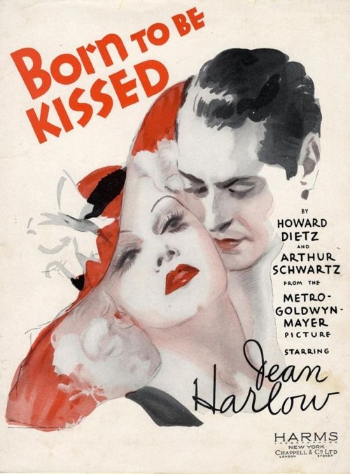 'Born to be Kissed', 1934 starring Jean Harlow ~ http://semioticas1.blogspot.com.br/2011/09/pandora.html