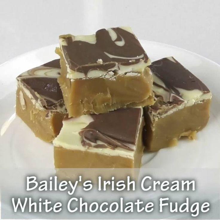 Thermomix Bailey's Irish Cream White Chocolate Fudge Video and Recipe