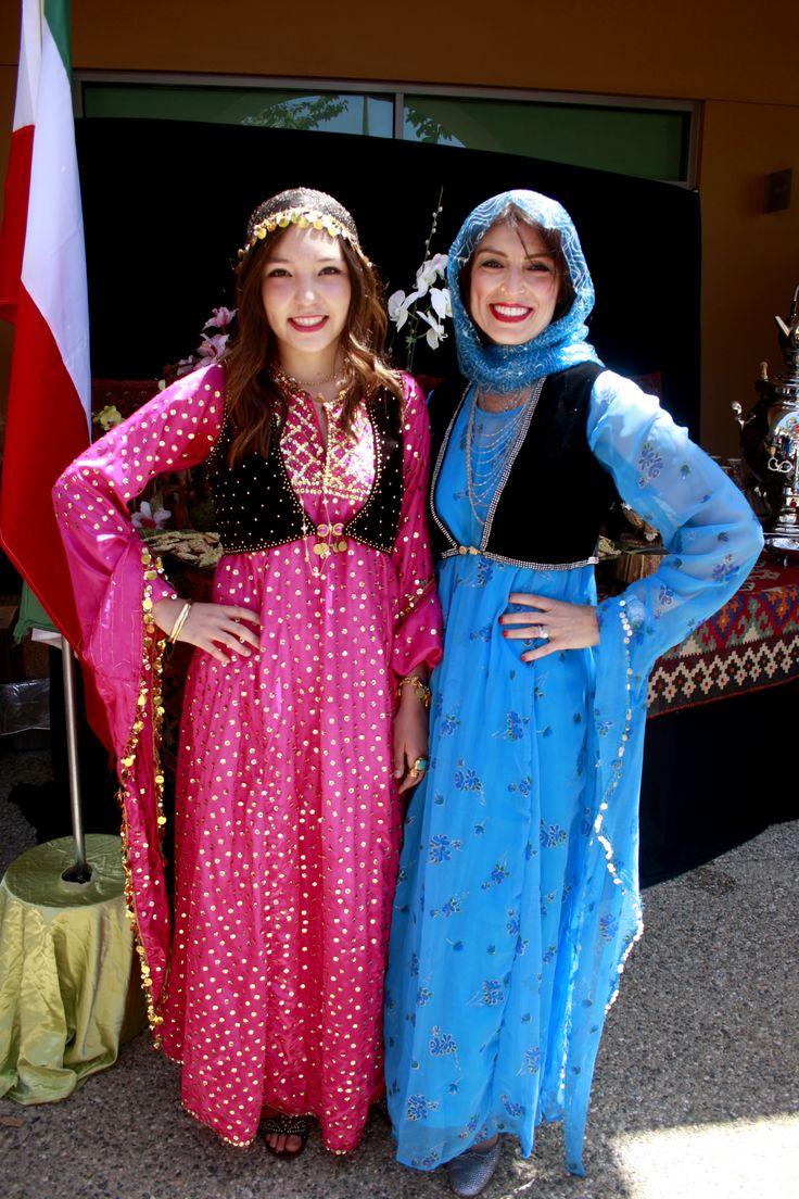 Persian shift dress and turkish vest