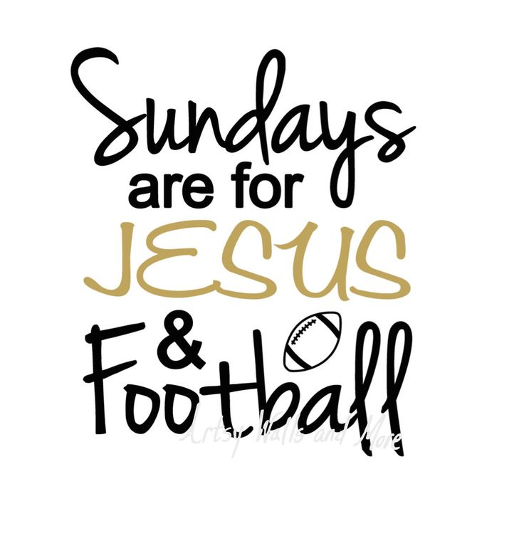 Sundays are for Jesus and Football svg, Jesus svg CUT file, Football lover svg for Silhouette Cameo or Cricut, Christian t-shirt svg DIY by SvgArtsyWallsAndMore on Etsy