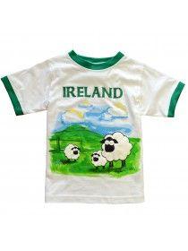 White Ireland Sheep T-shirt