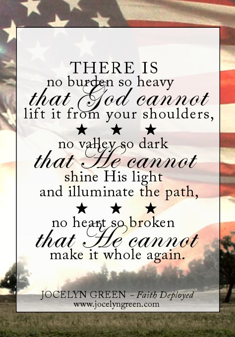 Love Quotes For Him Deployed : From Faith Deployed: Daily Encouragement for Military Wives Inspring ...