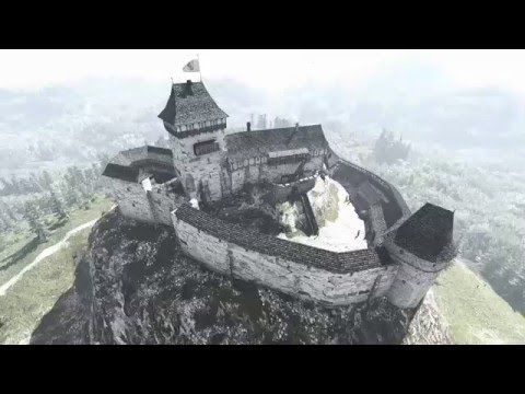 Déva vára, Cetatea Devei (látványrajzok) - YouTube