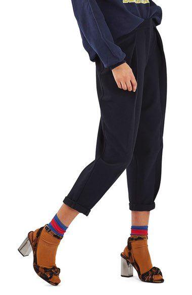 Main Image - Topshop Mensy Crop Trousers