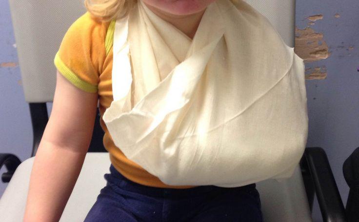 #WMDEDGT - Handgelenksbruch der 2 Jährigen