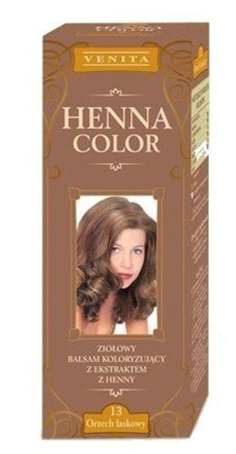 Henna color hajfesték 13 mogyoróbarna 75 ml 695 Ft db Hajmosás után kell  feltenni 55f98fec18