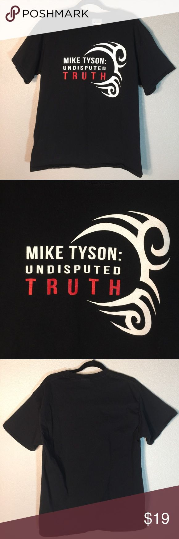 Mike Tyson Undisputed Truth Logo Tee Shirt Old school Mike Tyson Undisputed Truth Tee Shirt | Size: L (Men's) | Condition: Pre-owned (Worn, excellent condition, no major flaws!) Shirts Tees - Short Sleeve