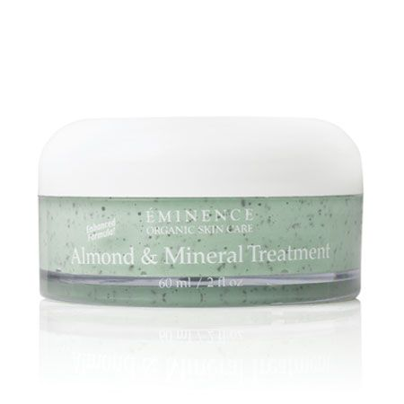 Description: Exfoliating and stimulating for a healthy glow   Skin Type: Mature, dehydrated or seborreic skin types  Key Ingredients:  Crushed Almonds: refines, revitalizes and enriches the skin  Paprika: invigorates and revitalizes skin  Bioflavonoids: enrich, nourish and moisturize the skin  Ground Ivy: tones and tightens the appearance of pores  Zinc Oxide: soothes  Biocomplex™: a booster of antioxidants, vitamins, Coenzyme Q10, and Alpha Lipoic Acid to reduce the appearance of wrinkles.