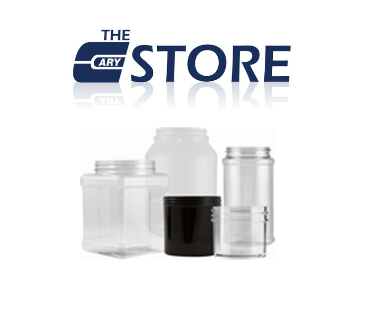 Plastic Jar sizes range from 1/4 oz up to 336 oz in round, square and oblong shapes. Specialty Jar colors are available depending on volume.