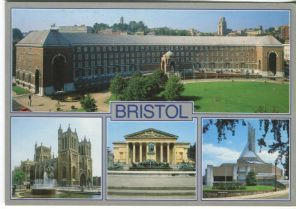 Unichrome Postcard, Bristol Multiview, 2055