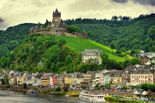 Cochem, Germany  -  one Europe's most picturesque towns.