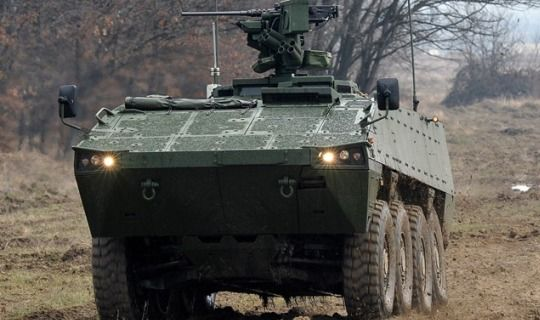 Domestically produced Patria AMV of Croatian Armed Forces[540x320]