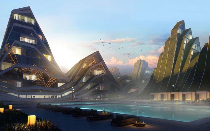 bjarke ingels group plans hualien residences in taiwan