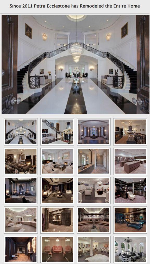 Rooms In Tamara Ecclestone House