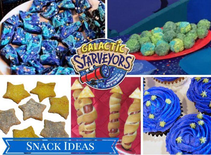 VBS 2017 Galactic Starveyors Snack Ideas | VBS 2017 | Pinterest ...