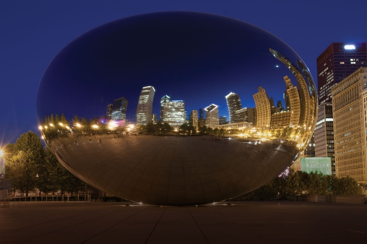 Don't miss seeing the view from The Bean in #Chicago. A great place to visit!