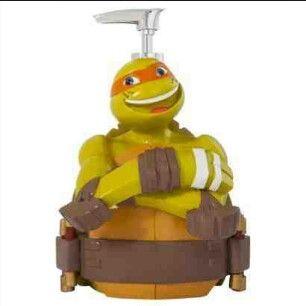 Teenage Mutant Ninja Turtles, Ninja Turtle Bathroom, Soap Dispensers, Bathroom  Sets, Kid Bathrooms, Boy Decor, Kids Bedroom, Bedroom Decor, Kids Rooms