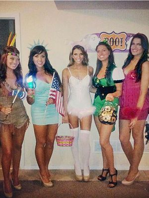 15 fun and unique diy halloween group costume ideas for you and your bffs - Halloween Costume Ideas College Students