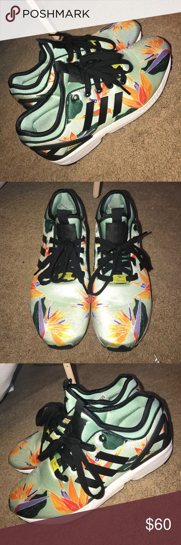 Adidas ZX Flux Floral Edition Adidas Torsion adidas Shoes Sneakers
