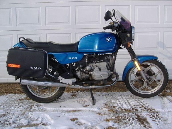 BMW R65  #motorbikes #motorcycles #motocicletas