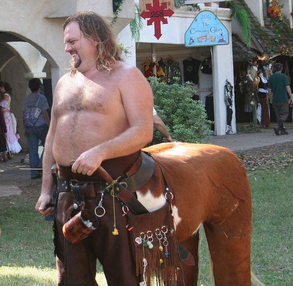 Half Man, Half Horse!