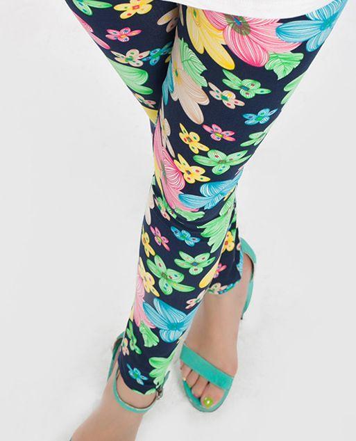 Розничная девочка моды цветочные колготки дети леггинсы бесплатная доставка 90 100 110 120 130 #men, #hats, #watches, #belts, #fashion, #style
