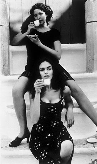 Maria Grazia Cucinotta for Lavazza Calendars, 1996 • Ferdinando Scianna