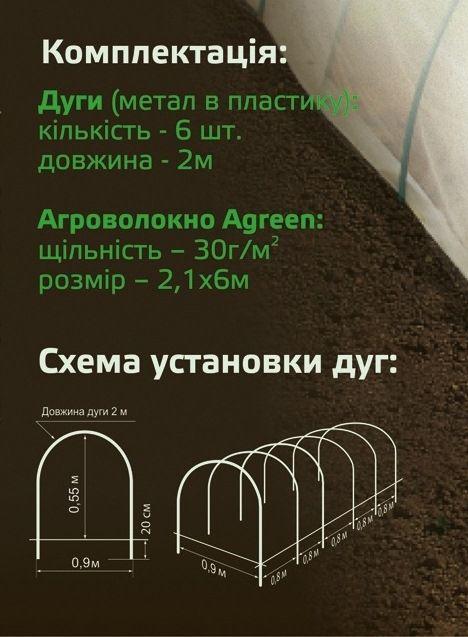 Купить Мини теплица Agreen размер L Парники, теплицы, каркасы и дуги