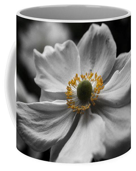 Honorine Joubert Coffee Mug featuring the photograph Dreamy Japanese Anenome Honorine Joubert 4 by Mo Barton