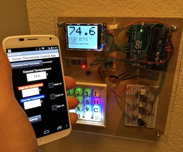 Arduino Smart Thermostat